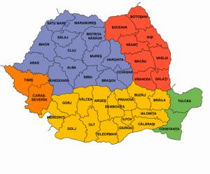 harta romaniei judete 300x249 Asiguram montaj in toata Romania