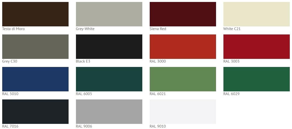 culori disponobile - MAVIS